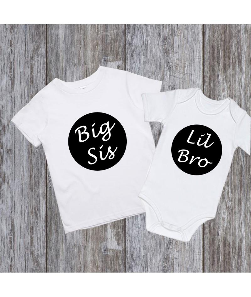 Big sis & Lil bro (Set of 2)