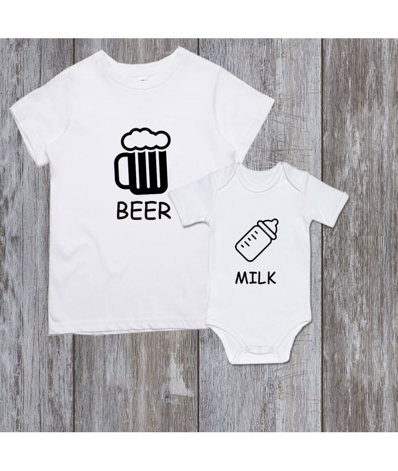 Beer/Milk (Set of 2)