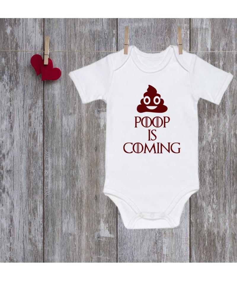 Poop is coming