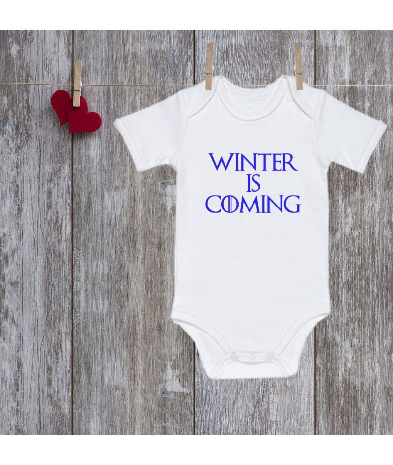 Winter is coming baby onesie