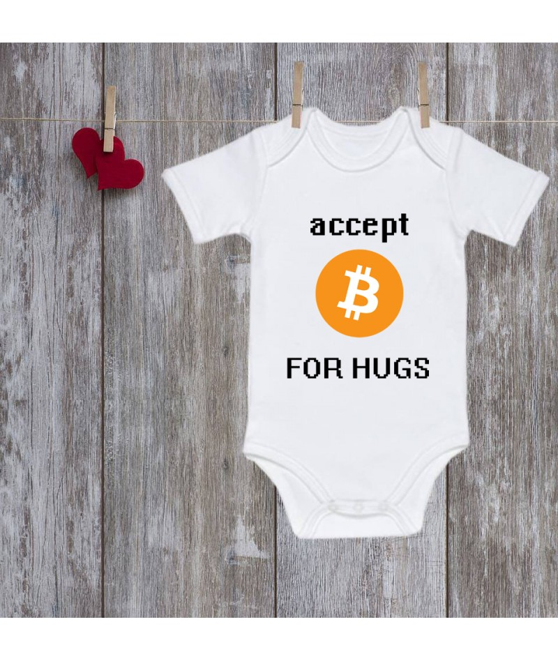 Baby onesie Bitcoin (Accept...