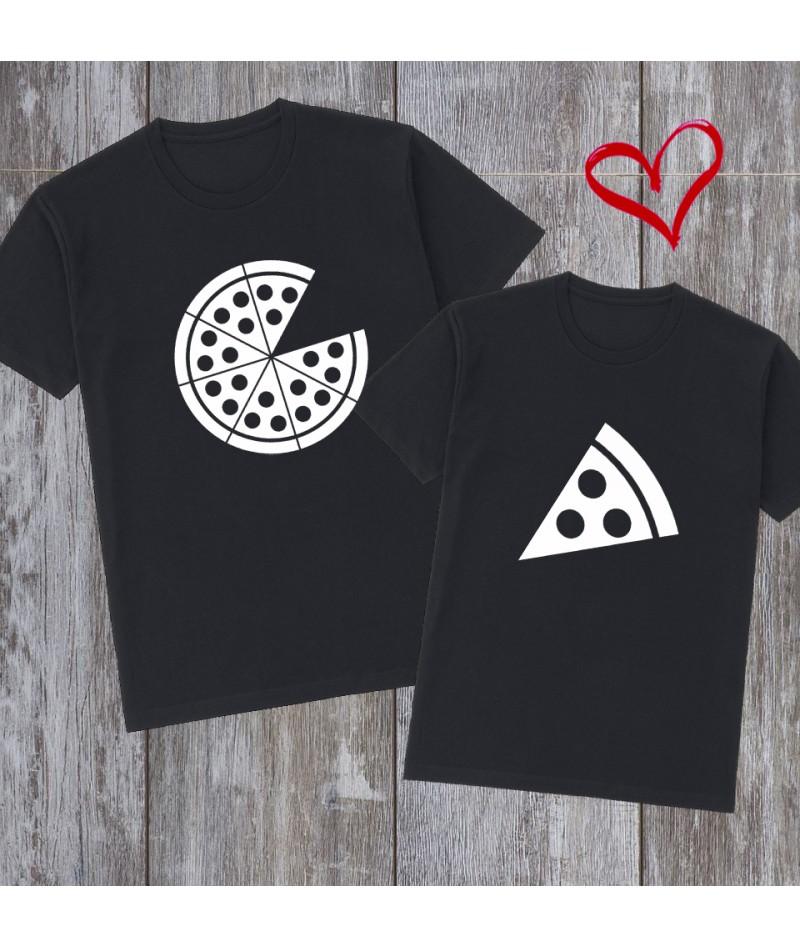 Pizza couples shirts (Set...
