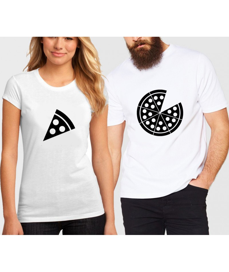 Pizza couples shirts (Set...