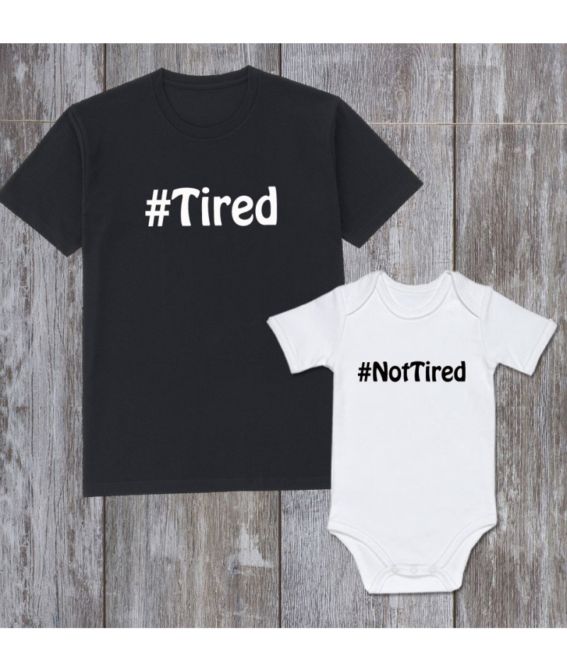 Tired and Not tired (Set of 2)