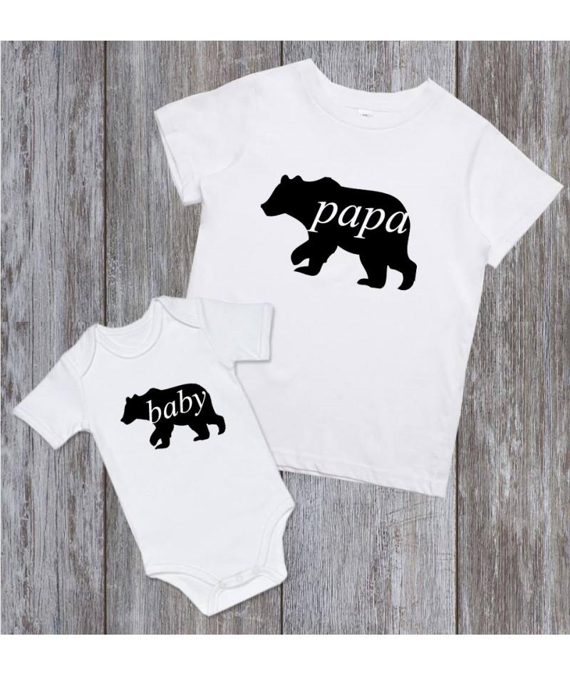 Papa bear Baby bear  (Set...
