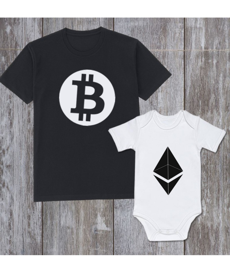 Bitcoin & Ethereum (Set of 2)