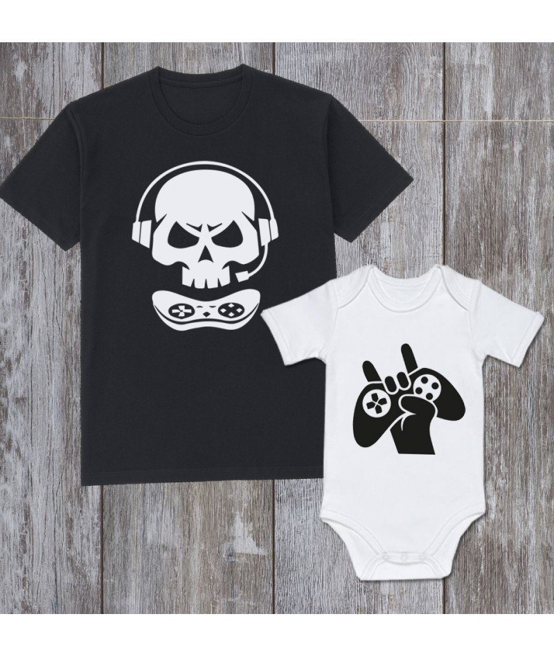 Gamer Dad & Son (Set of 2)