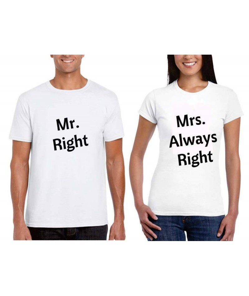 Mr. Right Mrs. Always Right...