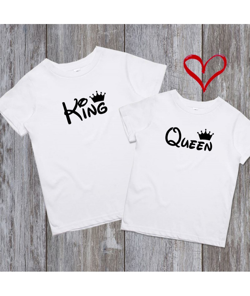 King and Queen (Set of 2)