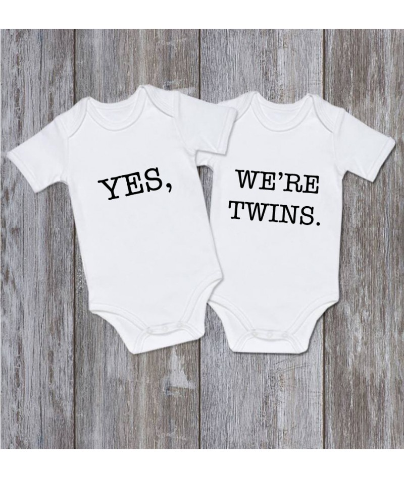 YES, WE ARE TWINS (Set of 2)