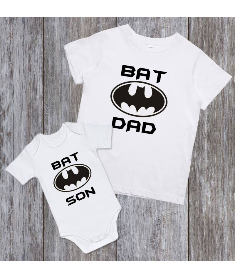 Bat dad and Bat son (Set of 2)
