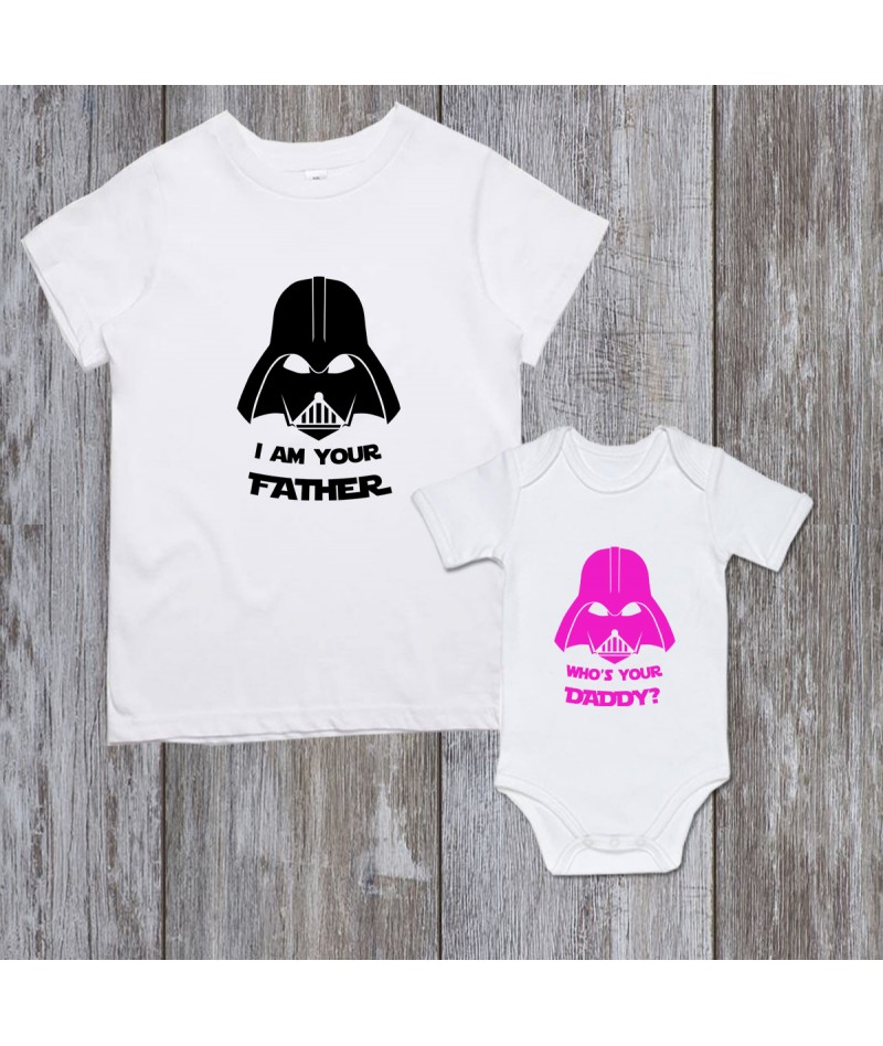 Star wars Dad and baby girl...