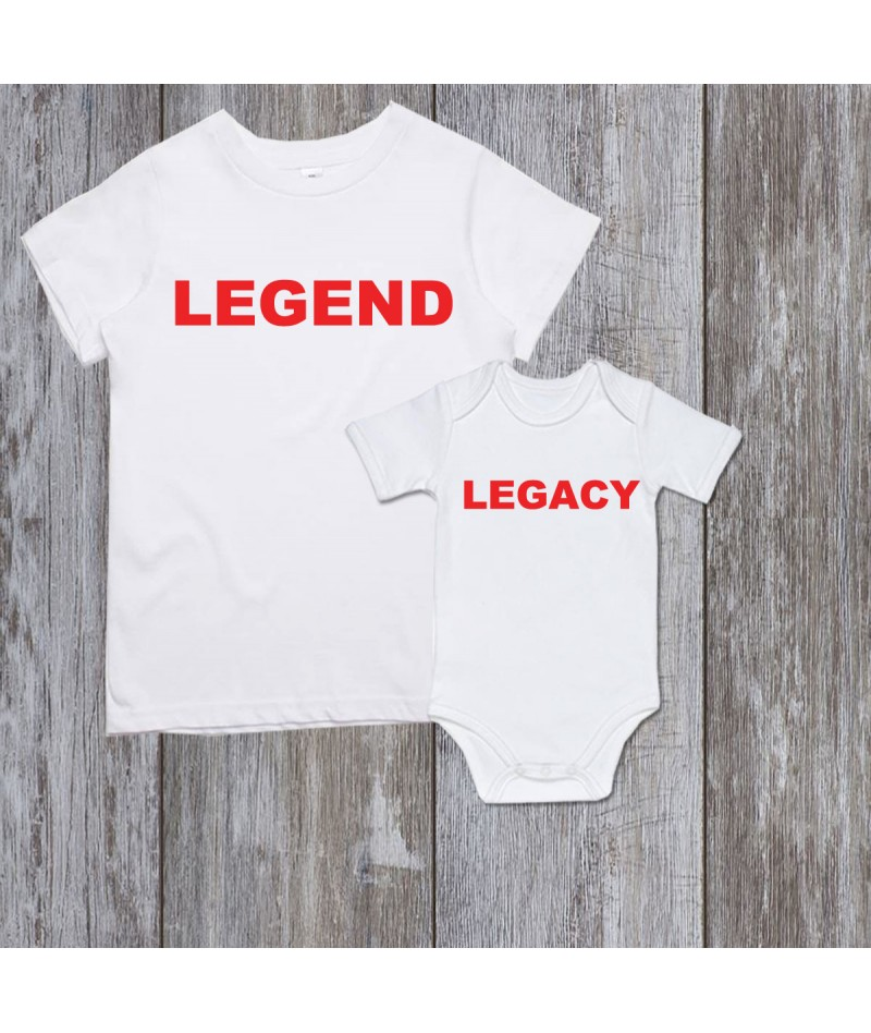 Legend and Legacy (Set of 2)