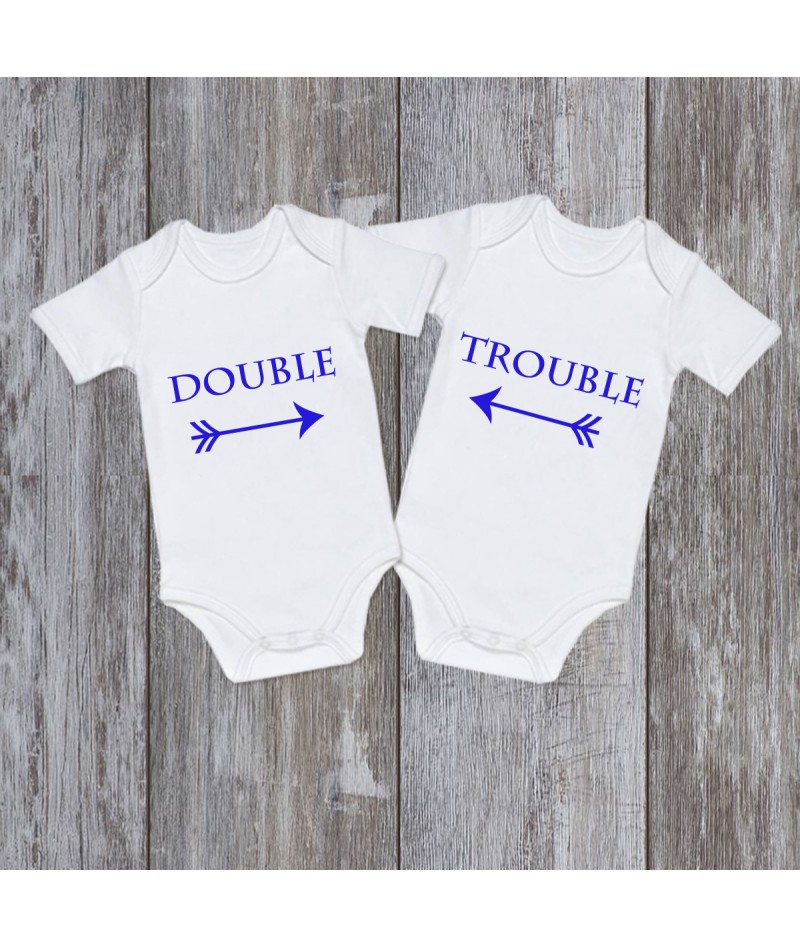 Double Trouble Blue (Set of 2)