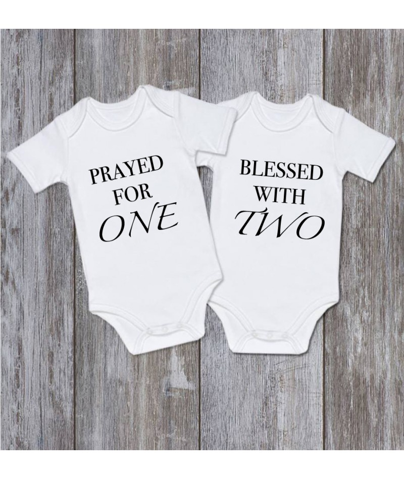 Prayed and Blessed (Set of 2)