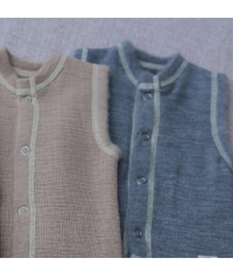 Merino wool Baby Vest